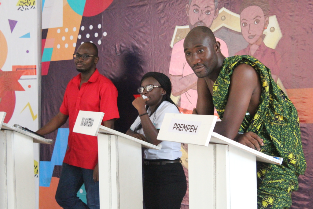 The winner, Ernest Mills of Mfantsipim got the Back to School Quiz Champions Trophy and a certificate of participation as well as some assorted prices from sponsors.