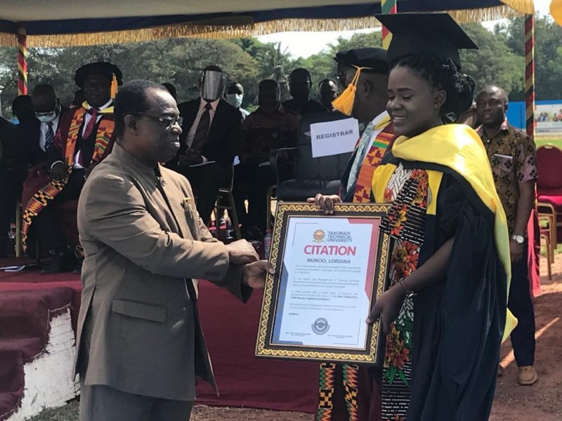 In all, 3,155 students graduated under the 2019/2020 academic year.