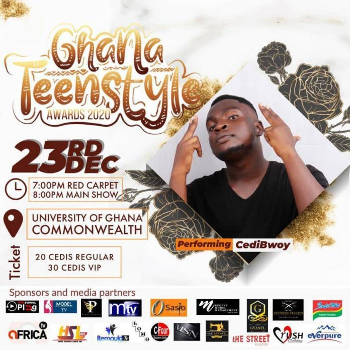 The Ghana Teenstyle award,an award scheme set to discover talents of young teenagers in the country with great talents and push them to the next level in live is set to roll.