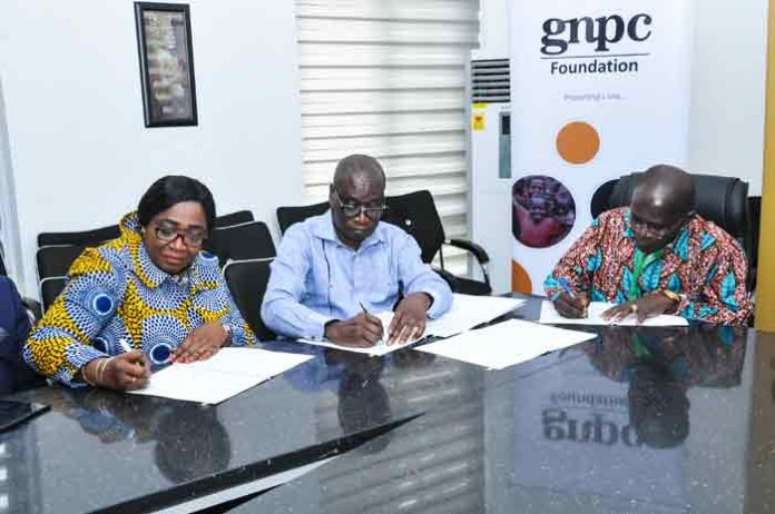 he Ghana National Petroleum Corporation (GNPC) has earmarked an amount of US$2.5 million for the construction of offices and classroom complex for the University of Energy and Natural Resources (UENR) in Sunyani.
