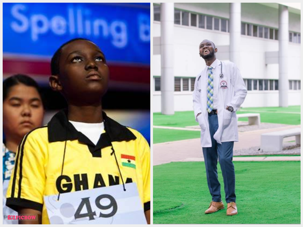 Back in 2010, young Darren Sackey won the Spelling Bee competition. With that, he represented Ghana at the Scripps National Spelling Bee competition in the United States of America.