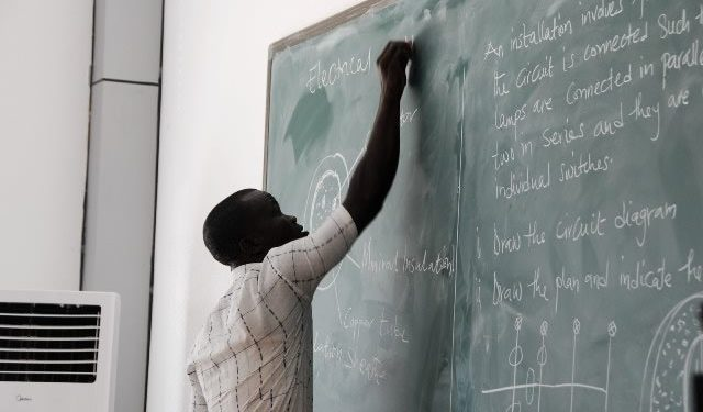 Several Public sector teachers who are undergoing training at the Kwame Nkrumah University of Science and Technology (KNUST) on the new curriculum for Junior High School to be used in the next academic year have rejected the GHC200.00 allowance given them by the Ghana Education Service (GES).